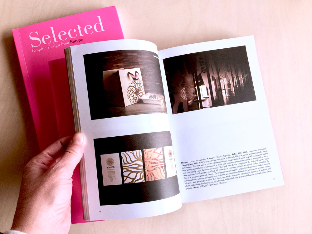 Selected B - FOU ZOO design published in European design selection book / Barcelona 2011
