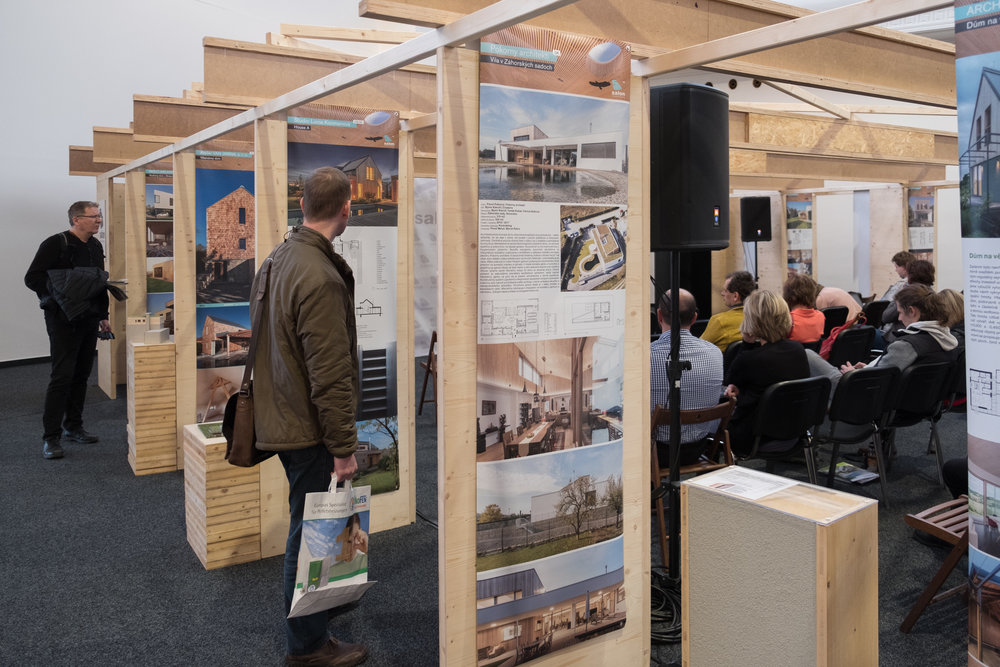 Salon of Timber ConstructionBuildings 2018 - Presentation and lecture about project House A in main program / Prague 2018