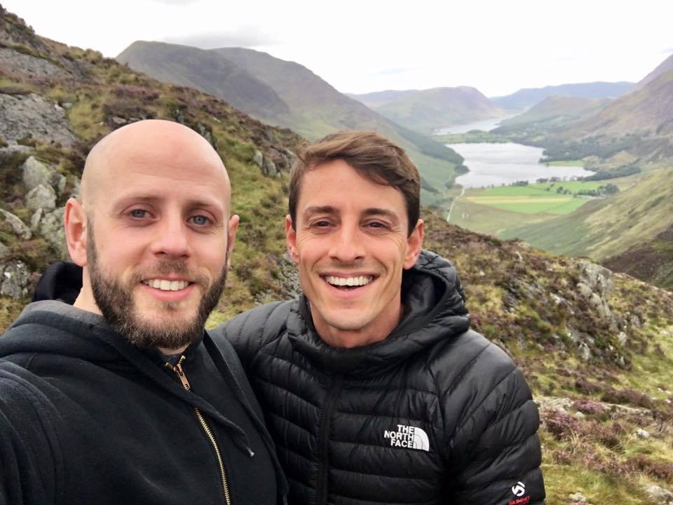 Q&C // Mark J Capanda (left),  Pablo Teixeira (right) Buttermere, Lake District