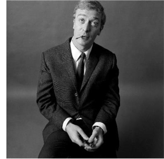 Michael Caine courtesy of Proud Galleries, Photo Duffy © Duffy Archive