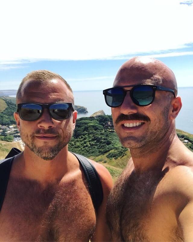 Q&C //Marc Svensson (Left) and Luca Rye, Durdle Door, Dorset