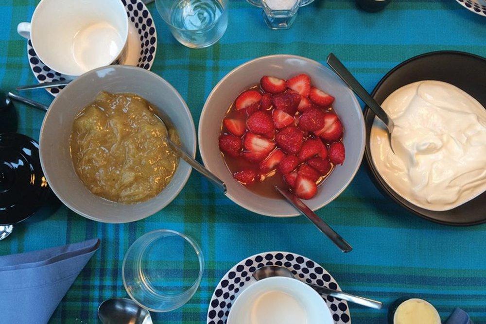 Lovely breakfasts