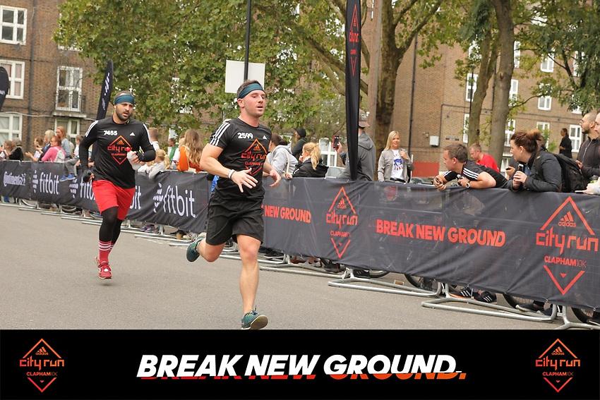 Glenn running in the City Run Clapham