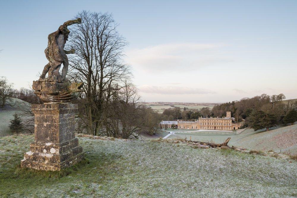 The East front of Dyrham Park, National Trust images - James Dodson