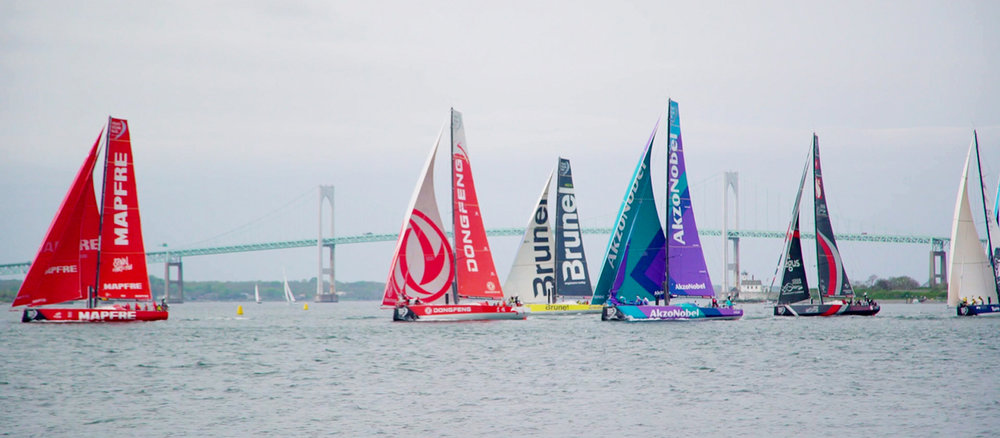 VOLVO OCEAN RACE - The ultimate test of sailors and equipment. As an official Race Supplier to the 2017-18 edition, Harken was aboard for every mile of the journey. Here's some of what we saw.