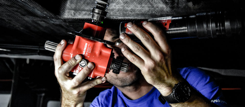 HARKEN TECH TEAM - It's not enough to make the most innovative products. We need to help sailors maintain, repair and use them right. These guys do that. All over the world.