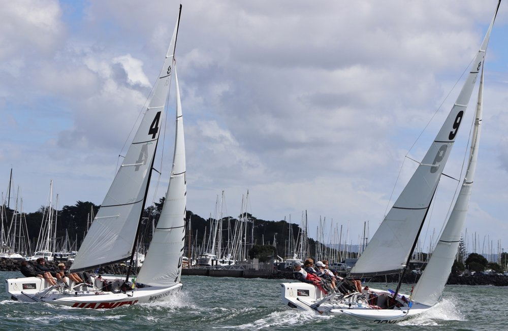 Egnot-Johnson v Stevenson 2 -Nespresso Youth International Match Racing Cup - Andrew Delves.jpg