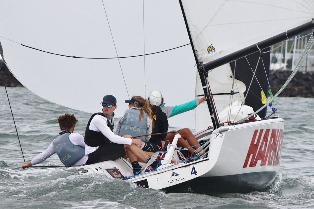 Tom Grimes - Nespresso Youth International Match Racing Cup - Andrew Delves .jpg