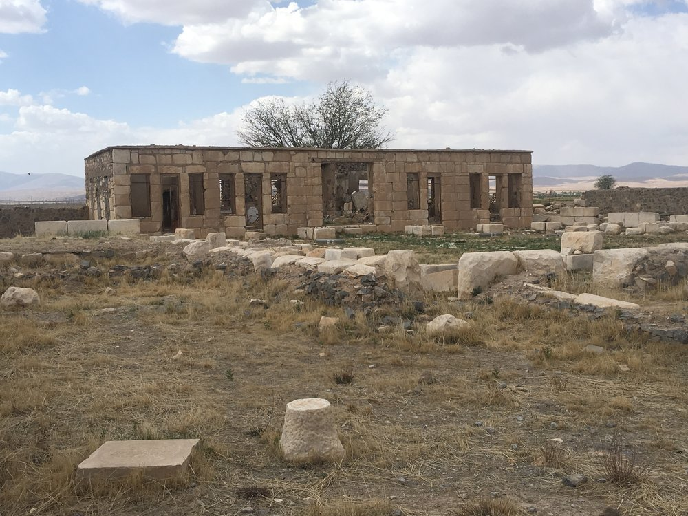 Caravanserai at Pasagardae