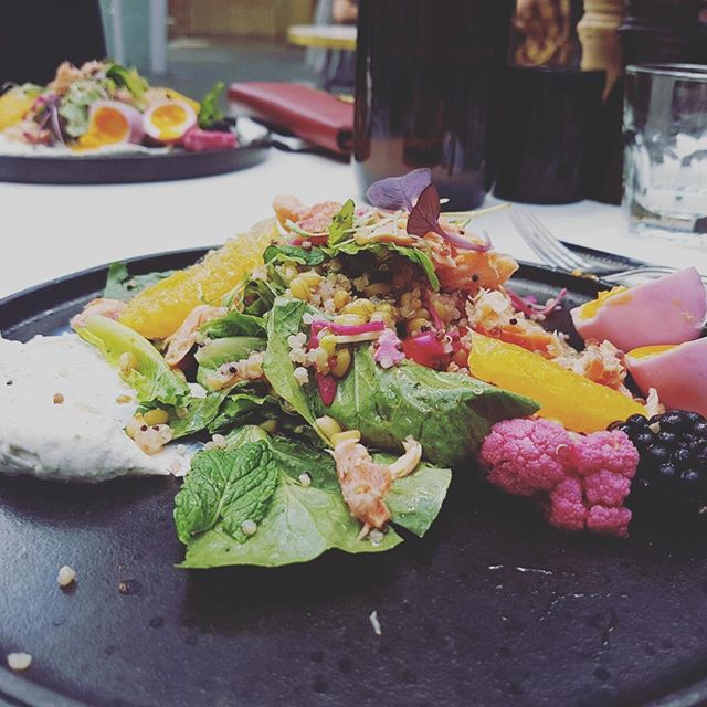 Design on a plate! Lunching with ladies on a Friday @rustica_hq in @rialtomelbourne. . 📷 @veroverorodri . . . #designsnoop #bestofmelbourne #lunch🍴 #lunchtime🍴 #fridayfun #melbournefoodie #melbournefoodies #vegetariano #melbournecbd #melbournelife #melbournedesign #friendshipismagic #workingwomen #workbreak #rialto #rustica #weekendtime #lettheweekendbegin