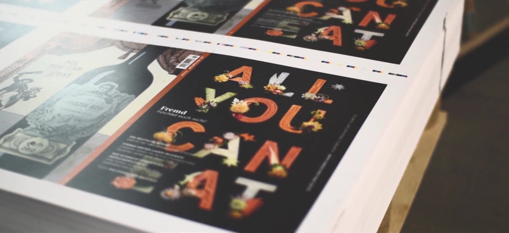 ALL YOU CAN EAT Issue 2: Fremd (Foreign) - Making of: Print