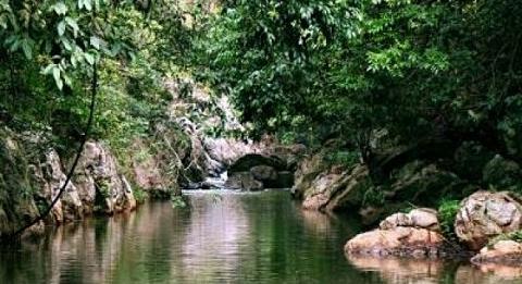 Menik Ganga - tributary at Ranugalla