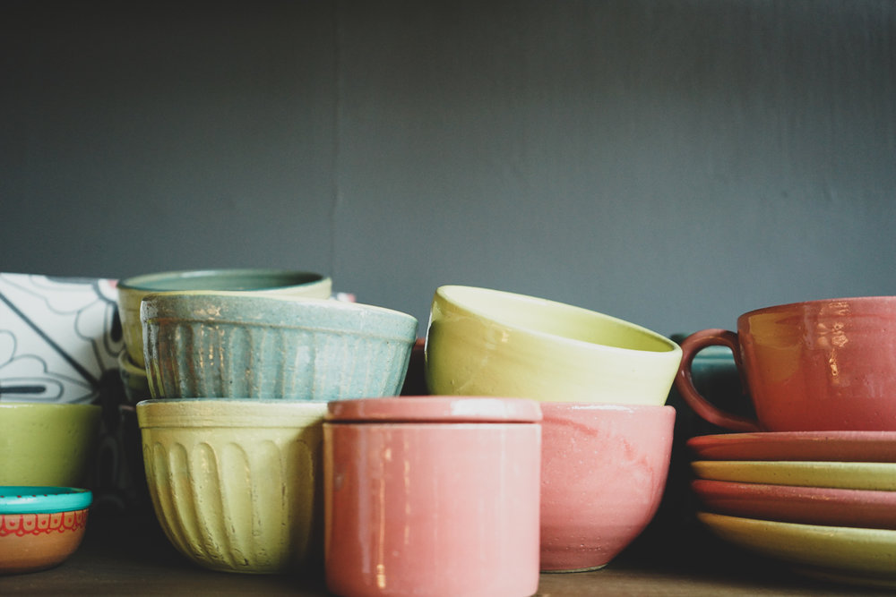 Sri Lankan homewares: ceramics available at Pendi in the Viharamahadevi Park South East shopping district