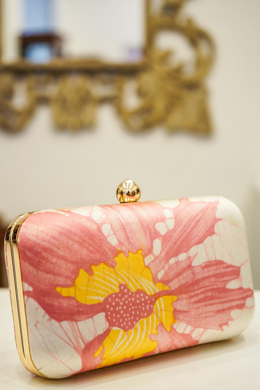Buddhi Batiks - silk batik clutch purse