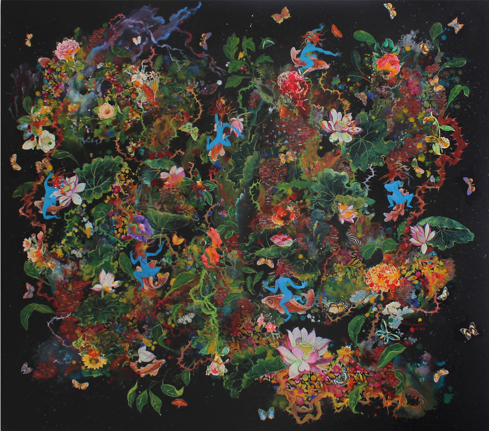 "By Priyantha Udagedara from his ""Orienntalism"" exhibition at the Saskia Fernando Gallery"
