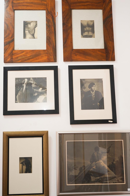 Framed Lionel Wendt photos