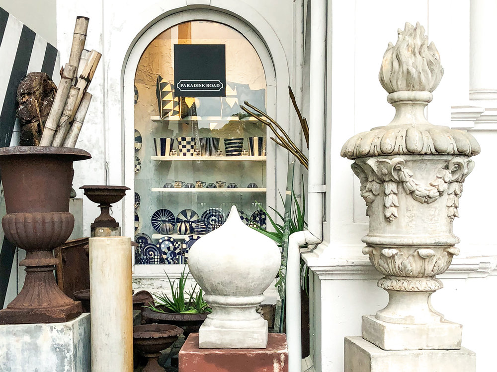 Colombo shopping guide - Paradise Road store front