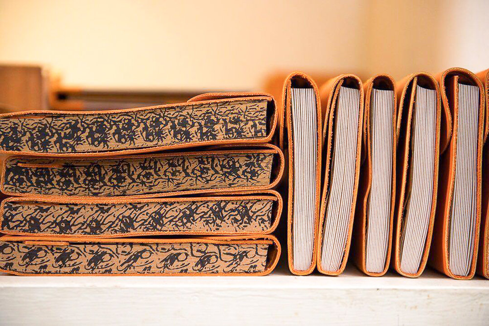 Colombo shopping guide - Paradise Road leather bound journals