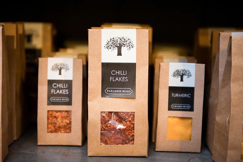Colombo shopping guide - Paradise Road spices