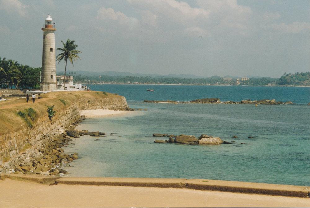 Galle Fort lighthouse, Sri Lanka