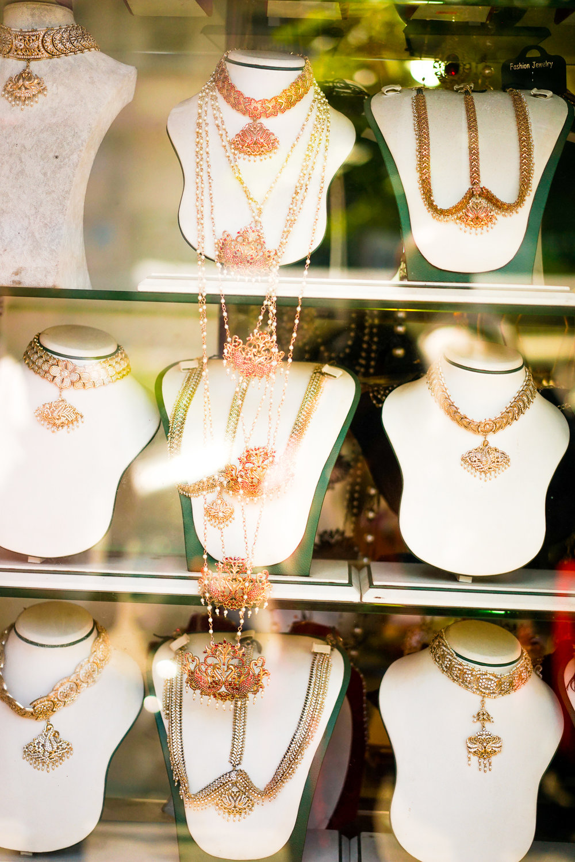 Gold shops on Sea Street