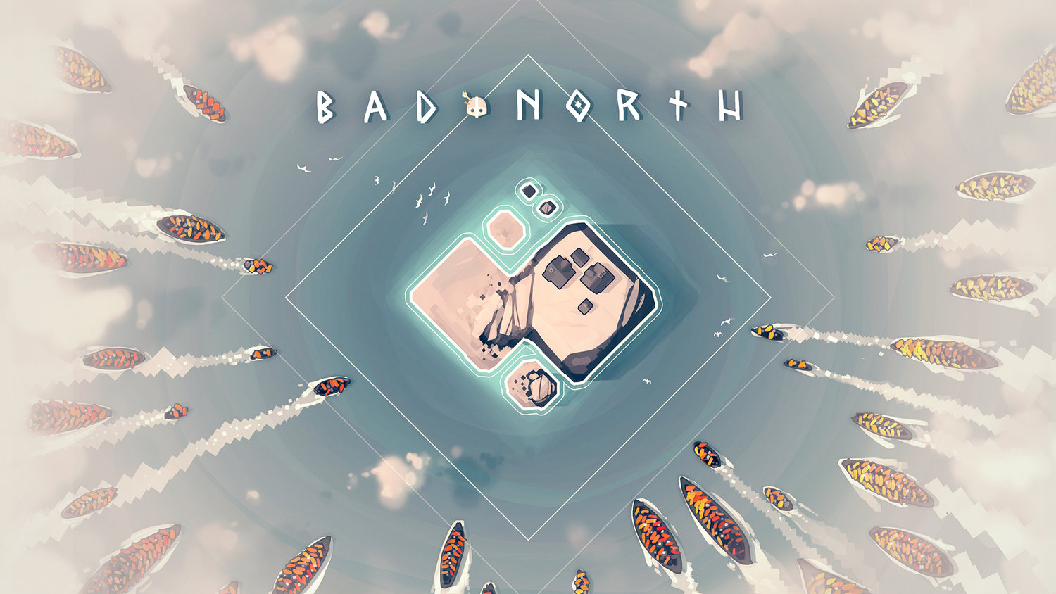Bad North title banner