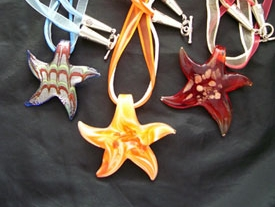 Purchase a Starfish - Just like the starfish story, your purchase of a starfish necklace or ornament can make a difference in the life of a child, one at a time. Contact our staff to purchase online or stop by to shop our current selection.