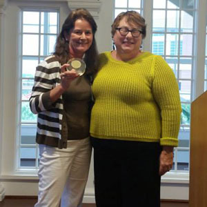 Geri Thilking, CASA Volunteer - Dale H. Harris Hall of Fame Award - 2015