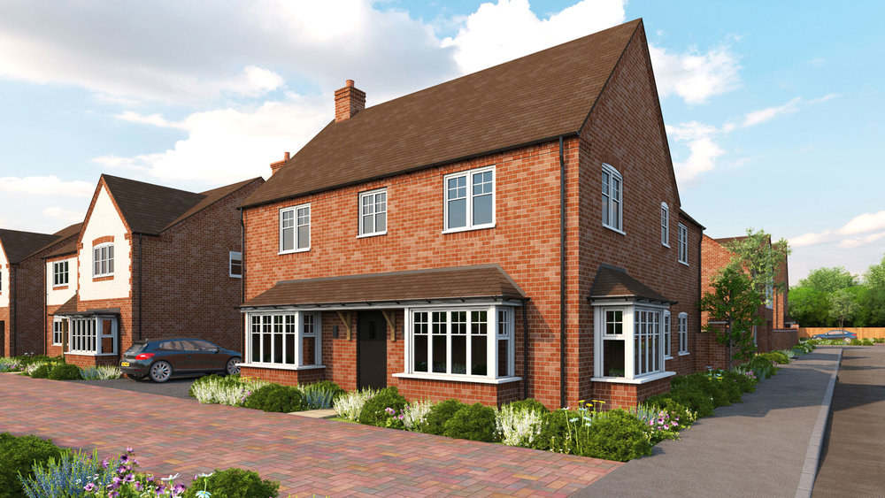 Halford - A 4-BEDROOM FAMILY HOMEWITH A DOUBLE GARAGE