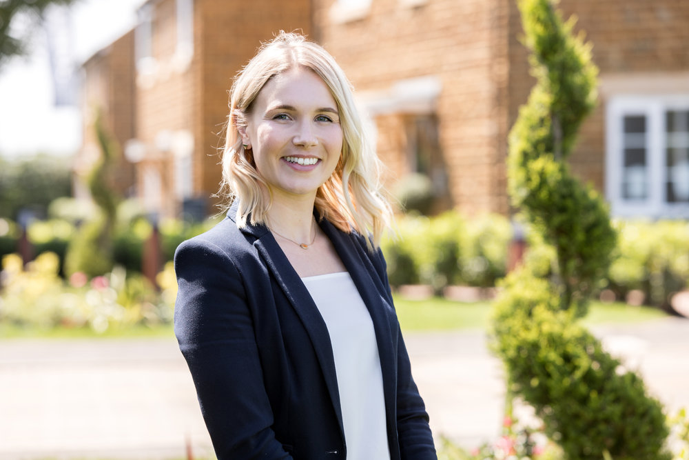 Harriet Dickson, Sales Manager at Hayfield Homes