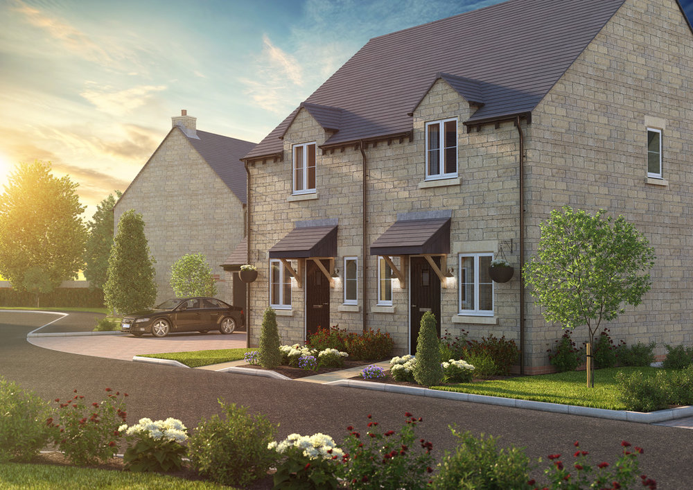The Hornton - 2 BEDROOM HOUSEHOMES 2, 3, 15 & 16