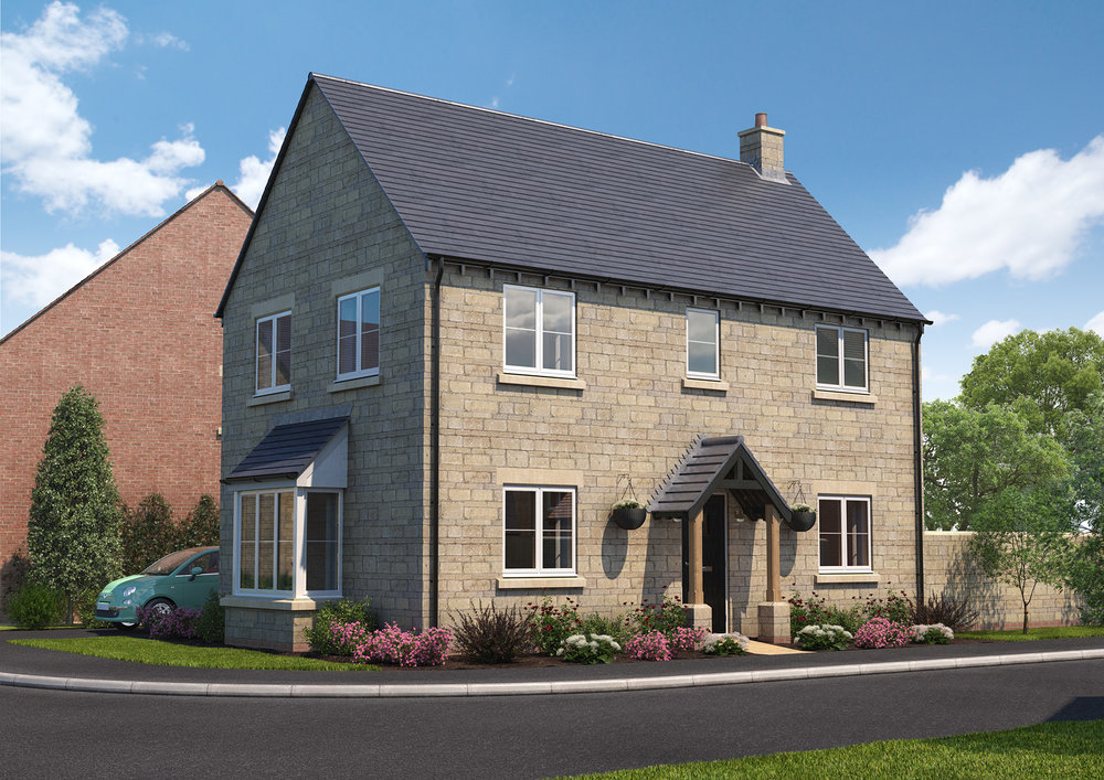 The Hawford - 3 BEDROOM HOUSESHOMES 4, 6, 41, 43, 50