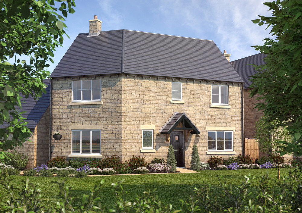 The Chacombe - 3 BEDROOM HOUSEHOMES 7, 47 & 48