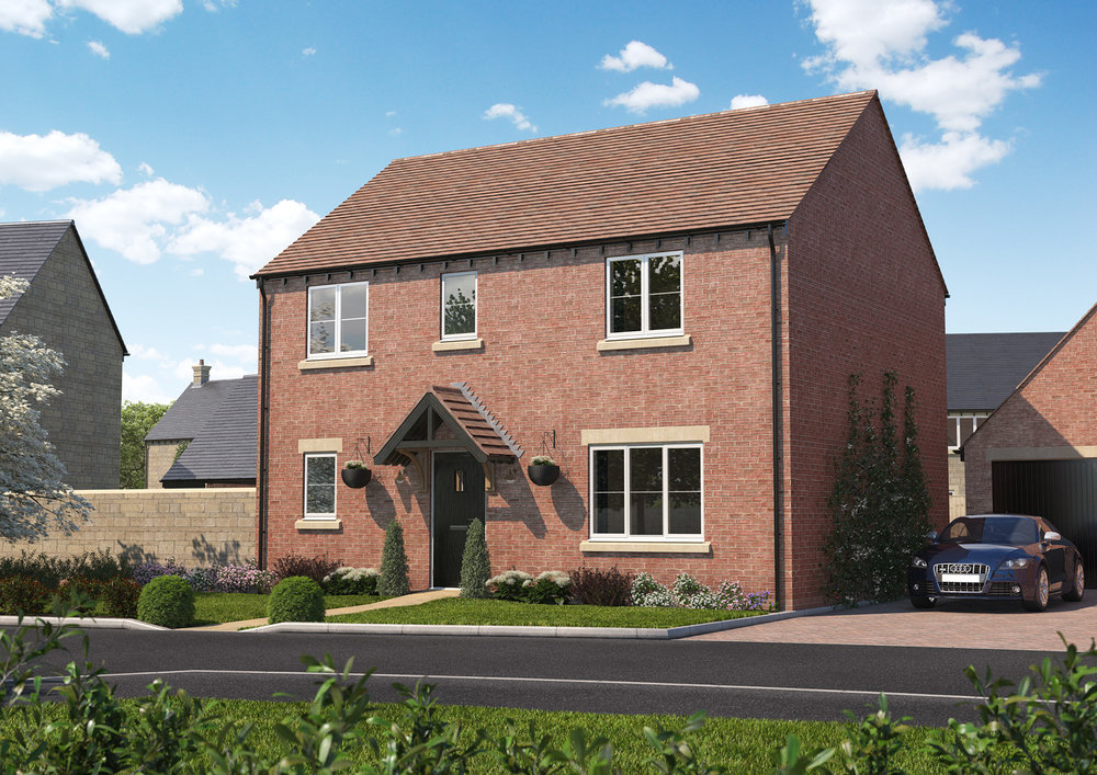 The Warmington - 3 BEDROOM HOUSESHOMES 5, 14 & 42