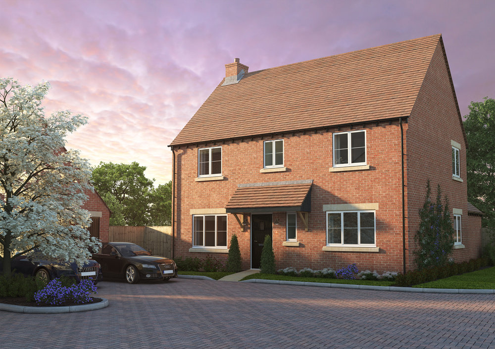 The Shotteswell - 4 BEDROOM HOUSESHOMES 8, 12, 29 & 33