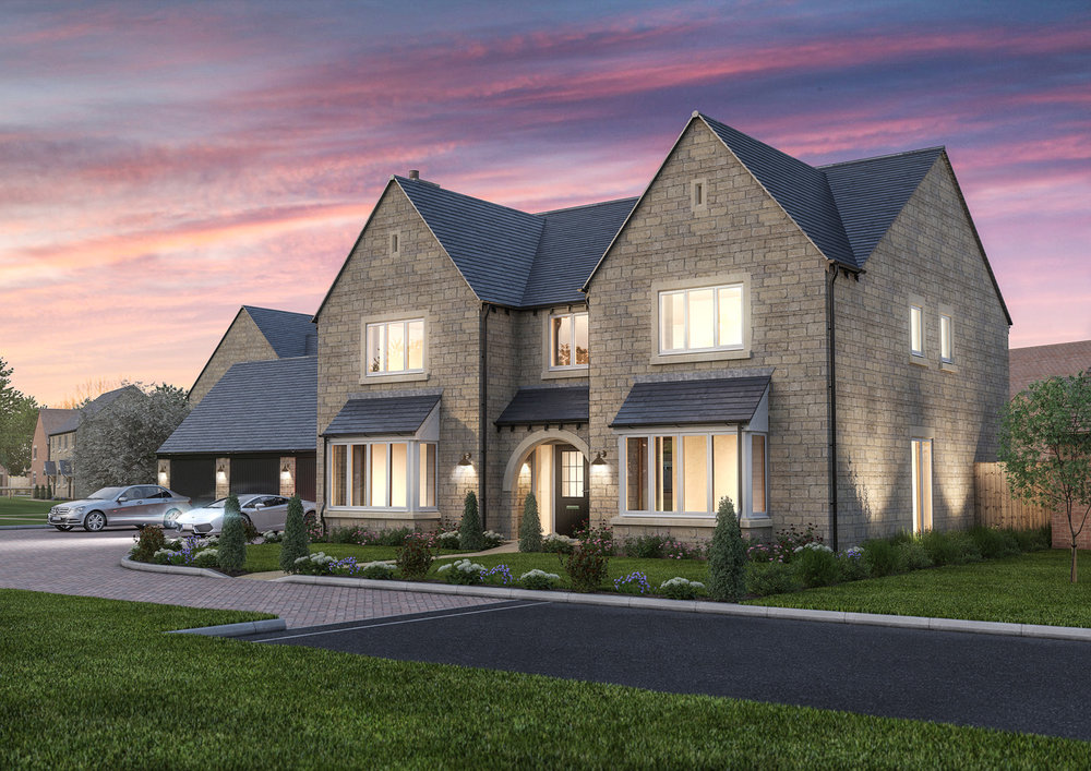 The Eaton - 5 BEDROOM HOUSESHOMES 11, 30, 31 & 32
