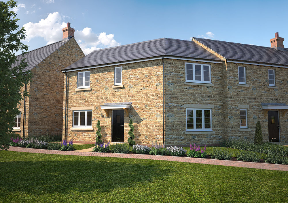 The Chacombe - 3 BEDROOM HOUSESHOMES 1, 5 & 31