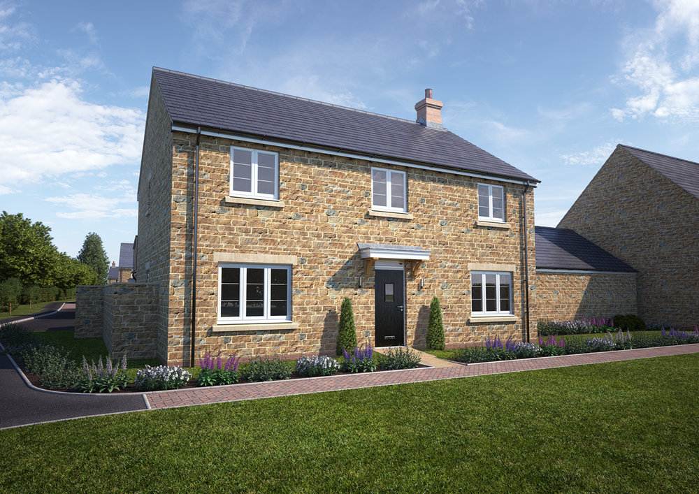 The Bourton - 5 BEDROOM HOUSESHOMES 10 (THE SHOW HOME) & 14