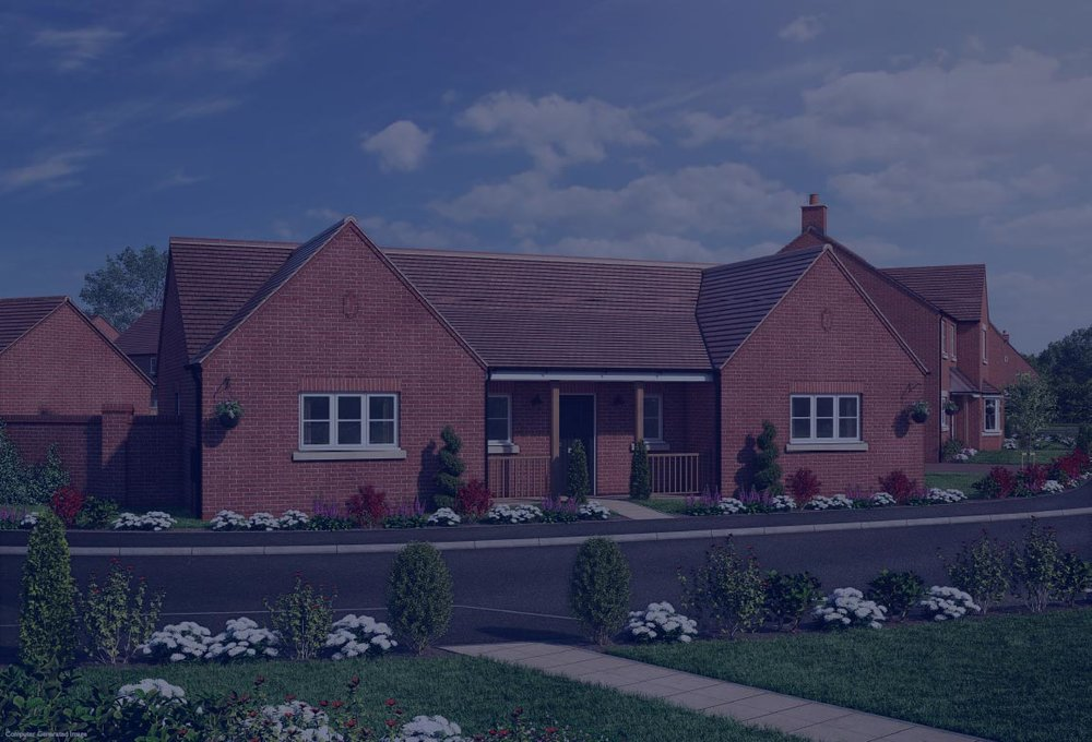 The Cotheridge - 2 BEDROOM BUNGALOWHomes 21, 22, 23, 42, 44, 62