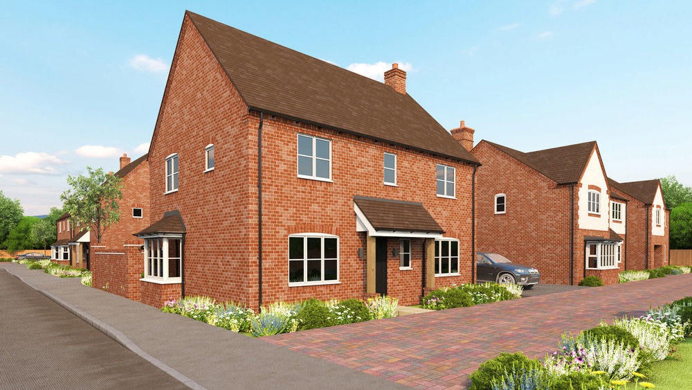 Gloucester I - A DISTINCTIVELY DESIGNED4-BEDROOM FAMILY HOME
