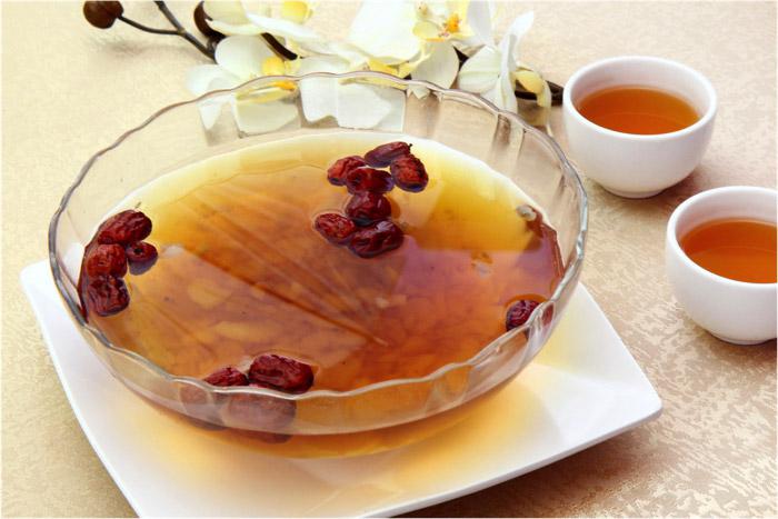 紅棗銀耳燉雪蛤