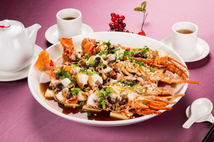 豉汁龍蝦豆腐鼎