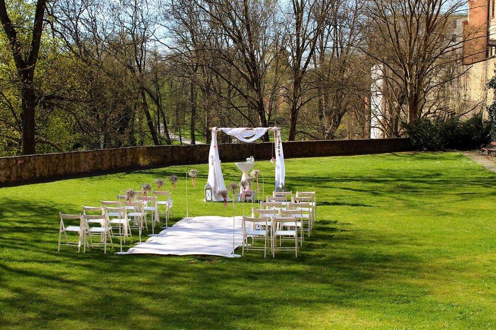 庭院式婚禮場地