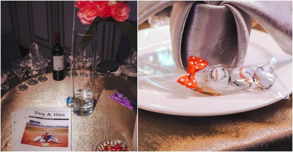 餐桌佈置小物