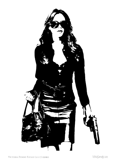 'Victoria Femme Fataile' you can download this for FREE on https://willstleger.wordpress.com/free-art/