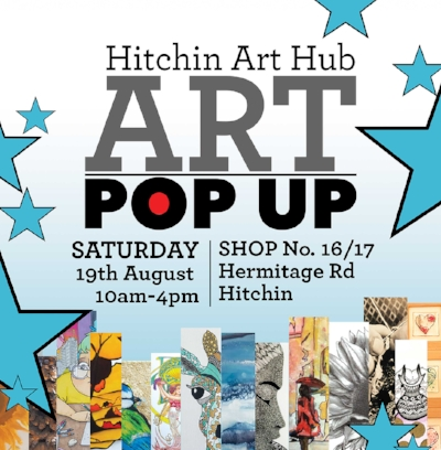 The Hitchin Art Hub at Hermitage Road Day, Hitchin Saturday 19th August 2017