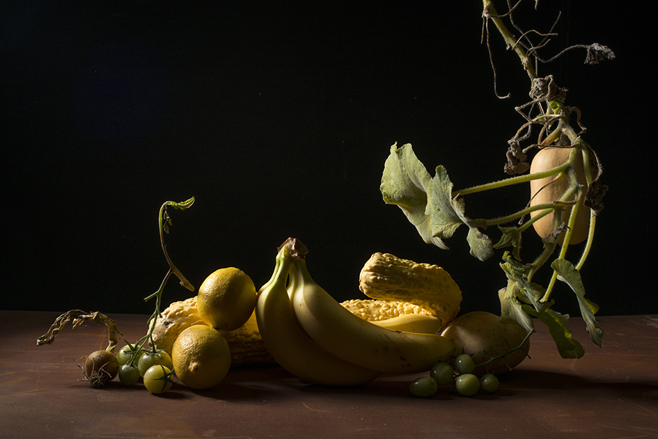 Food Still Life in Yellow 2017