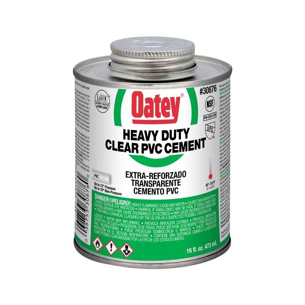 30876 - 16oz Clear PVC Cement