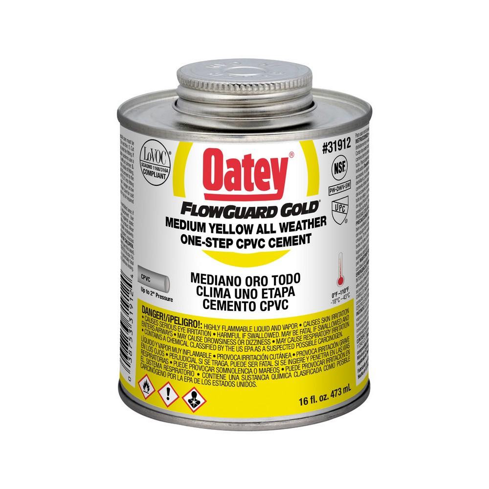 31912 - 16oz Yellow CPVC Cement