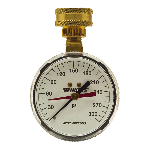 276H300 - Water Gauge 300PSI